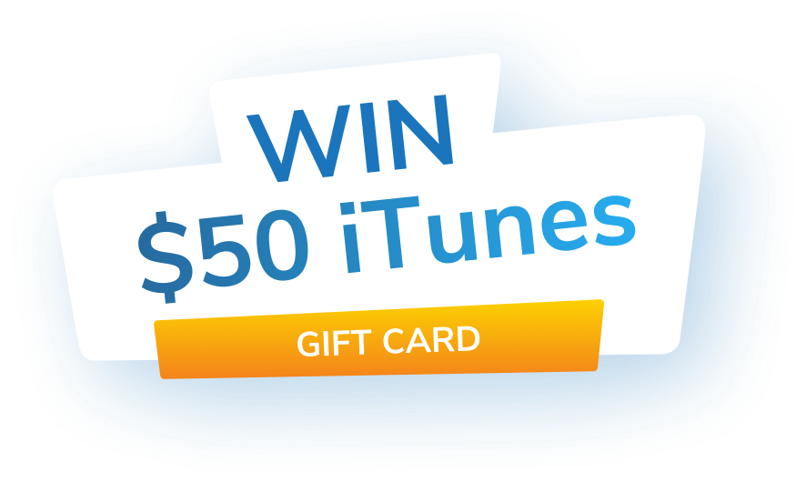 Win $50 iTunes Gift Card
